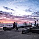 A walk on the pier by Adriano Carrideo