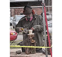 groundhog sculpture Photographic Print