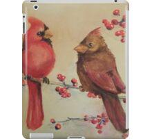 Dual Cardinals iPad Case/Skin
