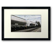 Freight Train VRS2 Framed Print