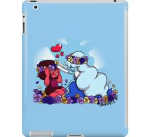 Ruby and Sapphire - Flower Crown iPad Case/Skin