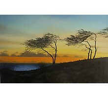 Kipahulu Sunset Photographic Print