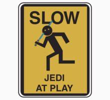 Slow Jedi at play by jaydan80