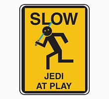 Slow Jedi at play Unisex T-Shirt