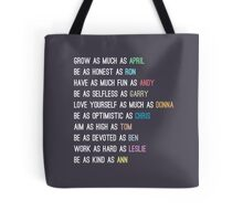 Parks characters Tote Bag