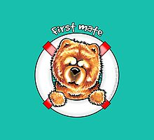 Chow Chow :: First Mate by offleashart