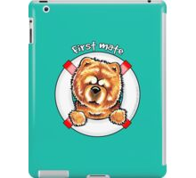 Chow Chow :: First Mate iPad Case/Skin