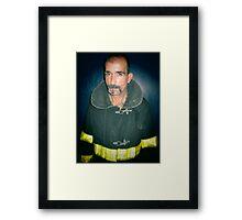 sexy fireman Framed Print