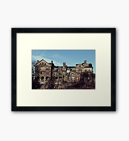 Miss Peregrine's Abandoned College for Girls Framed Print