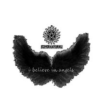 I Believe in Angels (White) by coulsonbaby