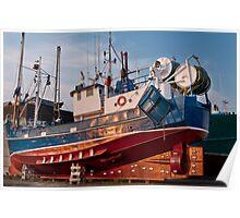 Fish trawler Poster