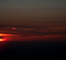 Airplane Sunset 2 by kgallant