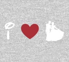 I Heart Happily Ever After (Classic Logo) (Inverted) Kids Clothes