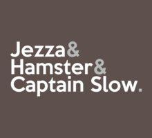 Jezza, Hamster, Captain Slow Kids Clothes