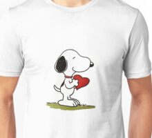 Snoopy In Love Unisex T-Shirt