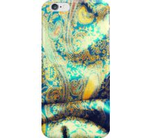 Green cloth iPhone Case/Skin