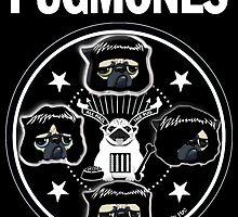 PUGMONES by darklordpug