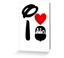 I Heart Haunted Mansion Greeting Card