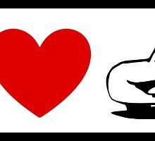 I Heart Cars Land (Classic Logo) by ShopGirl91706