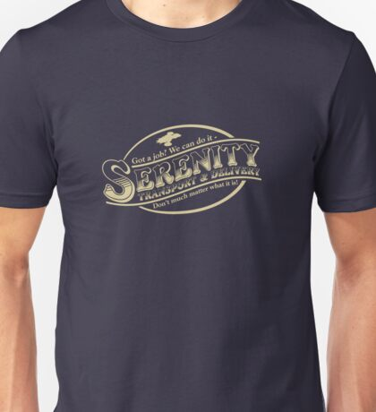 Serenity Transport & Delivery Service Unisex T-Shirt