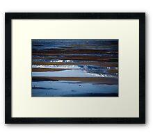 Tides Out at Harrison Lake  Framed Print