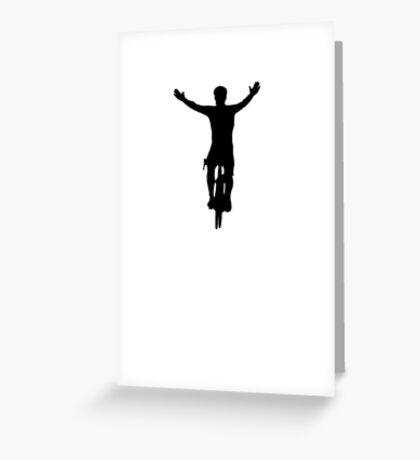 Sprint Finish Greeting Card