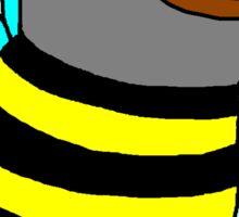 Pepe the Bee Sticker