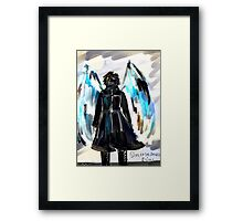 Side of the Angels Framed Print
