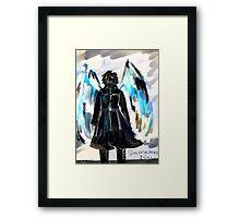 Side of the Angels Framed Print