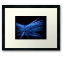 ©NLE Bizarre Blue Framed Print