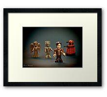 Three Enemies  Framed Print