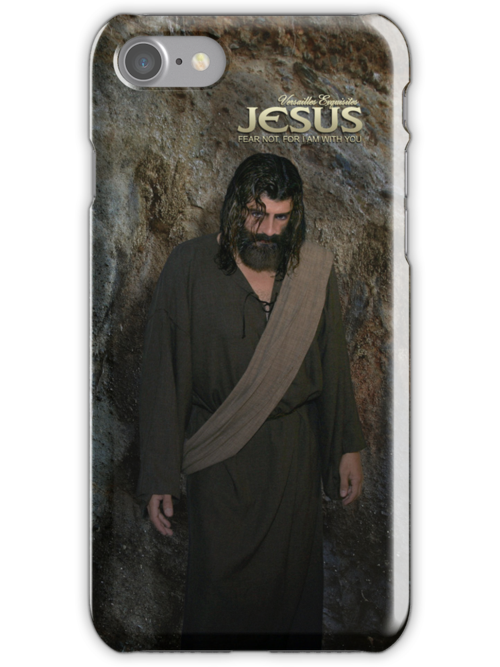 Jesus: Fear not, for I Am with you (iPhone/iPod Case) by Angelicus