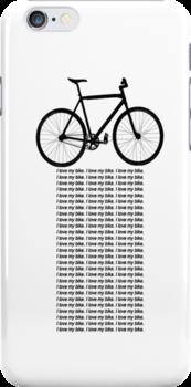 I Love My Bike by 15wilsonwu
