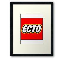 LEGO x ECTO v2 Framed Print