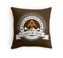 Appalachian Trail- Class of 2016 - Don't Give Up Throw Pillow