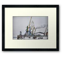 PORT Framed Print
