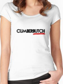 CumberBUTCH Women's Fitted Scoop T-Shirt