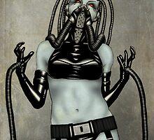 CyberPunk Girl 1 by Dean Bowen