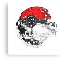 Pokemon Death Star Canvas Print