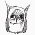 Wonky Owl-4 by annieclayton