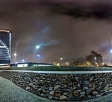 Panorama of Old Riga by paulsrphoto
