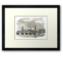 Big Ben / Houses of Parliament Framed Print