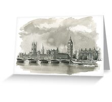 Big Ben / Houses of Parliament Greeting Card