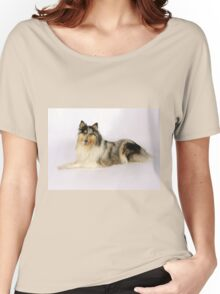 Toy Collie Women's Relaxed Fit T-Shirt