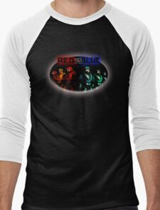 Red Vs Blue Men's Baseball ¾ T-Shirt