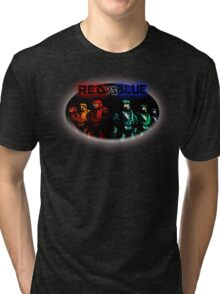 Red Vs Blue Tri-blend T-Shirt