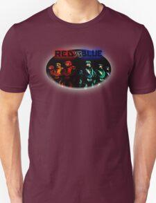 Red Vs Blue Unisex T-Shirt