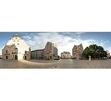 St. Peter's Church panorama, Riga, Latvia Photographic Print