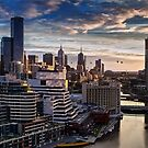 Ballooning Over Melbourne by peterperfect