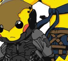 Pikachu Gear Solid Sticker